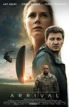 Arrival Sci-Fi poster