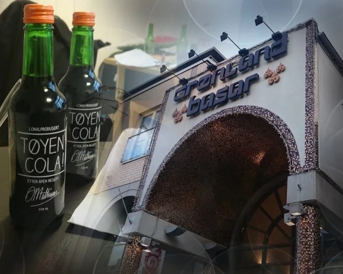 local cokTøyen Cola is a local Speciality in Osloe from Oslo