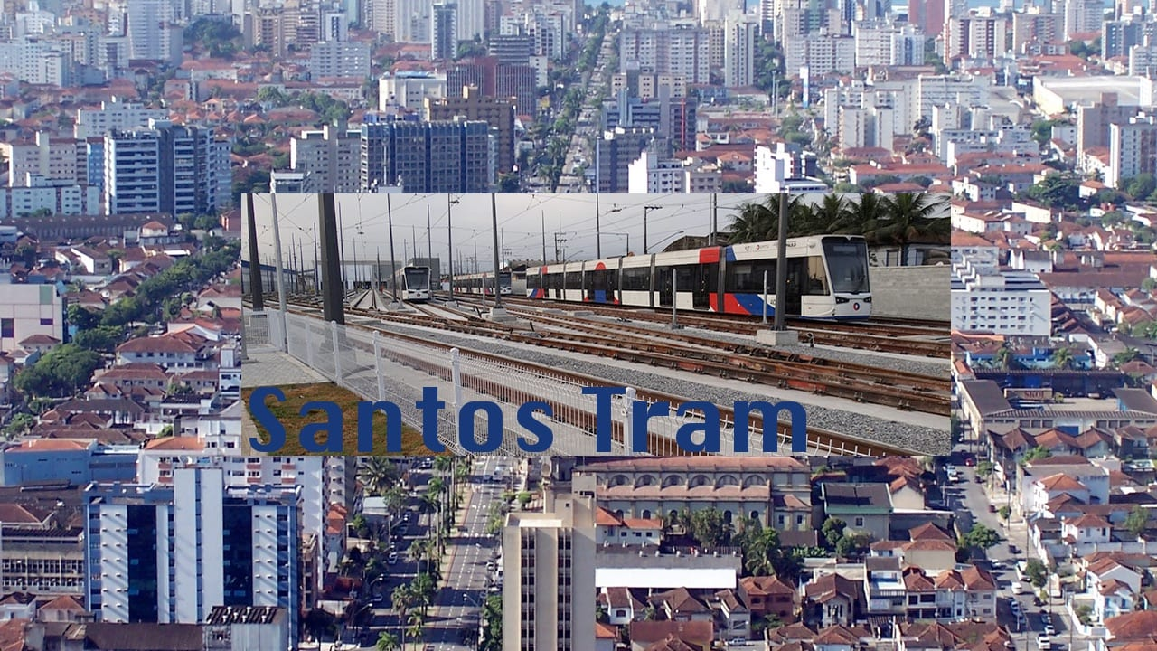 Santos in Brazil got it's Light Rail