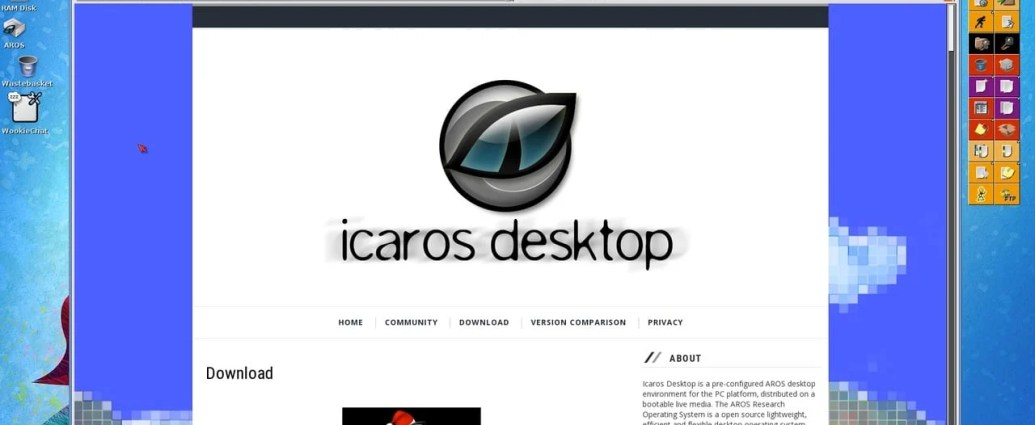 AROS Icaros Introduction