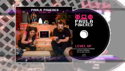 Paula Powered Level Up cover