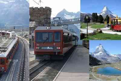 Gornergrat Bahn and the Tram
