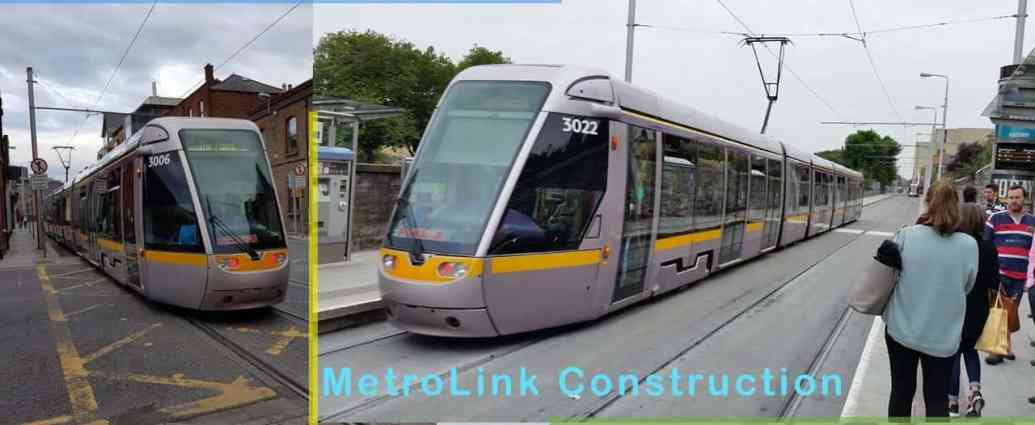 Proposing Light Rail Construction in Dublin Ireland