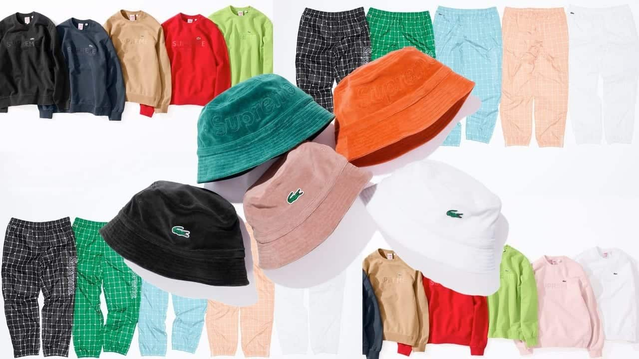X Lacoste Spring 2018 Collection