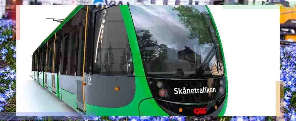 Light Rail Tram type for Lund, Sweden