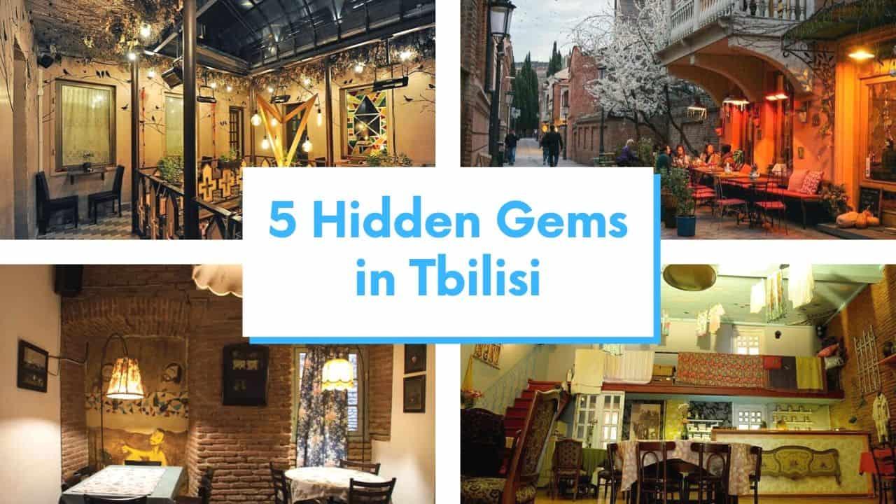 Hidden gems in tbilisi