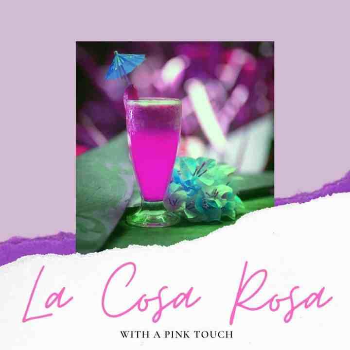 La Cosa Rosa cocktail to prepare at home