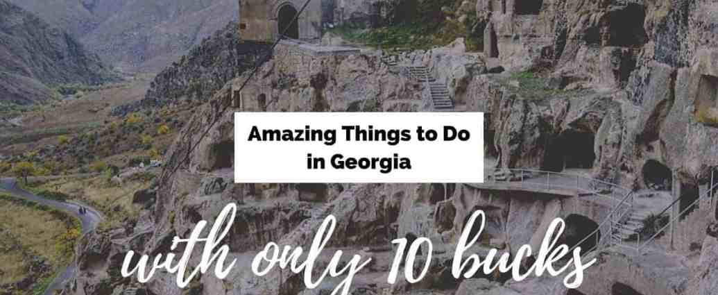 affordable things to do in georgia