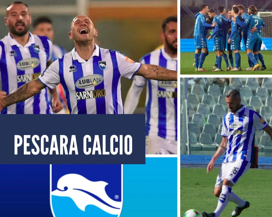 Pescara Calcio, the football league of Pescara
