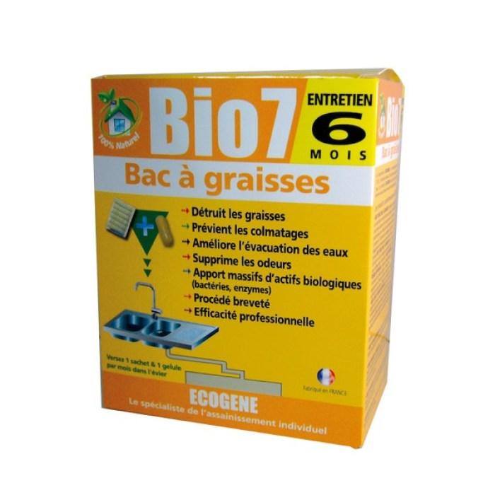 Bio 7 entretien bac à graisse Ecogene