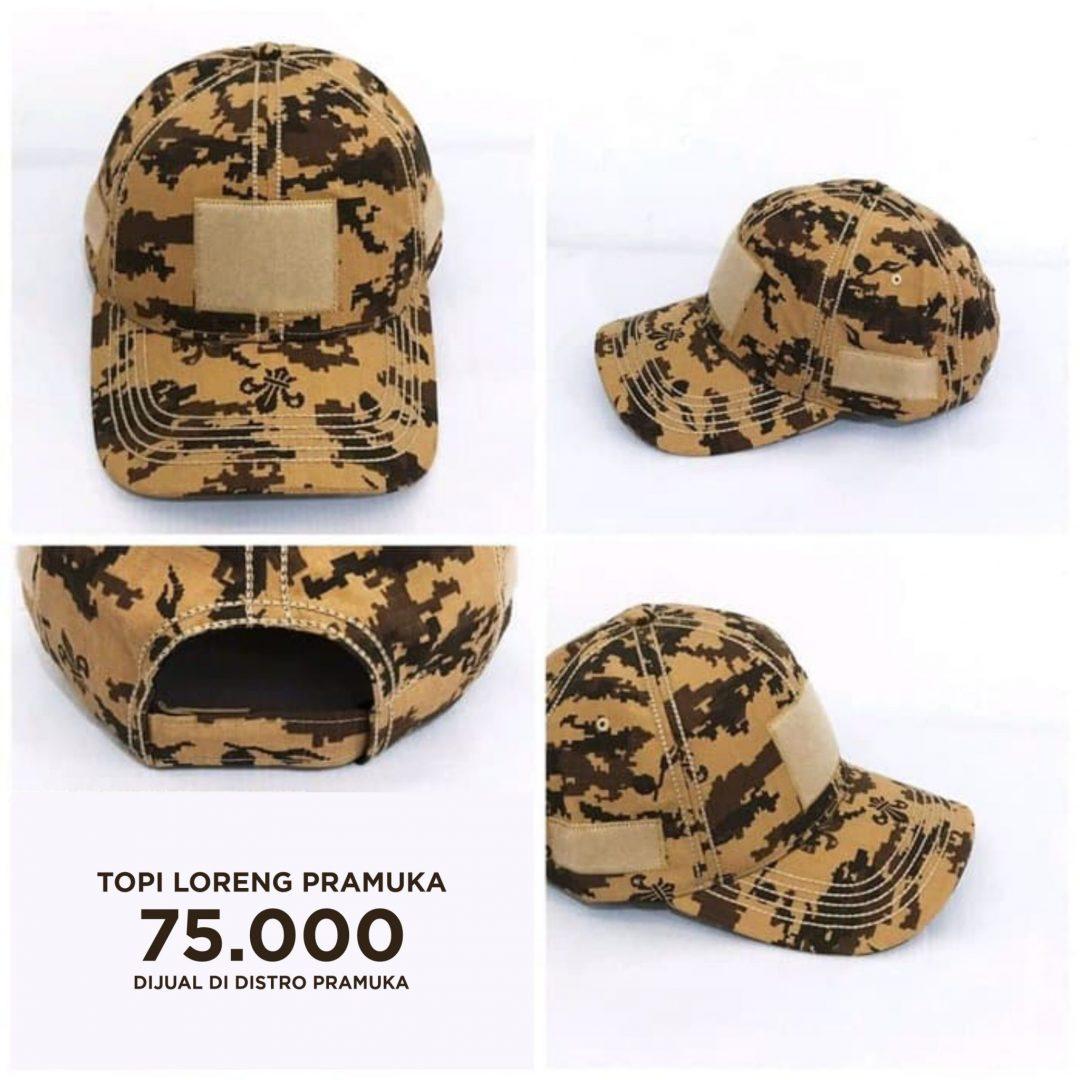 Topi Loreng Pramuka