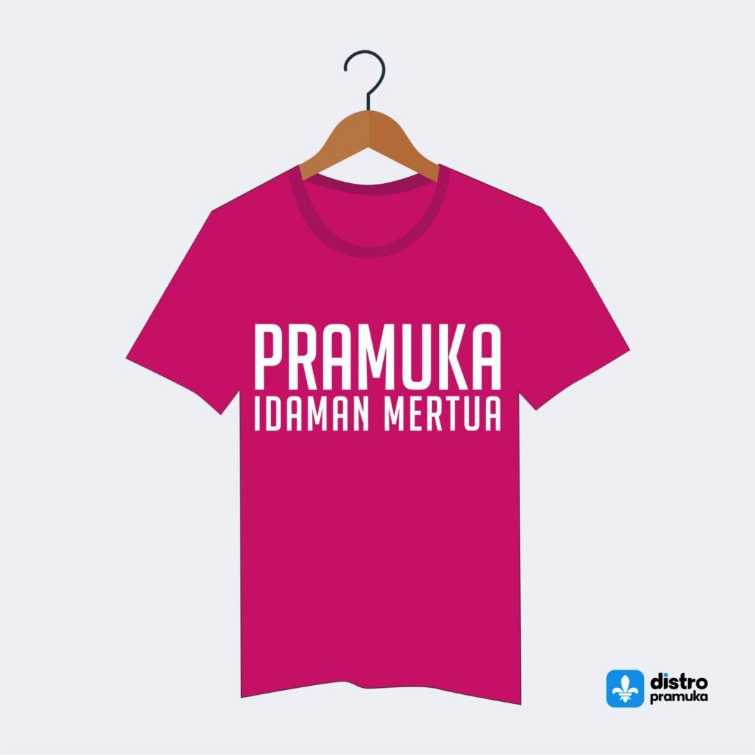 Kaos Pramuka PIM