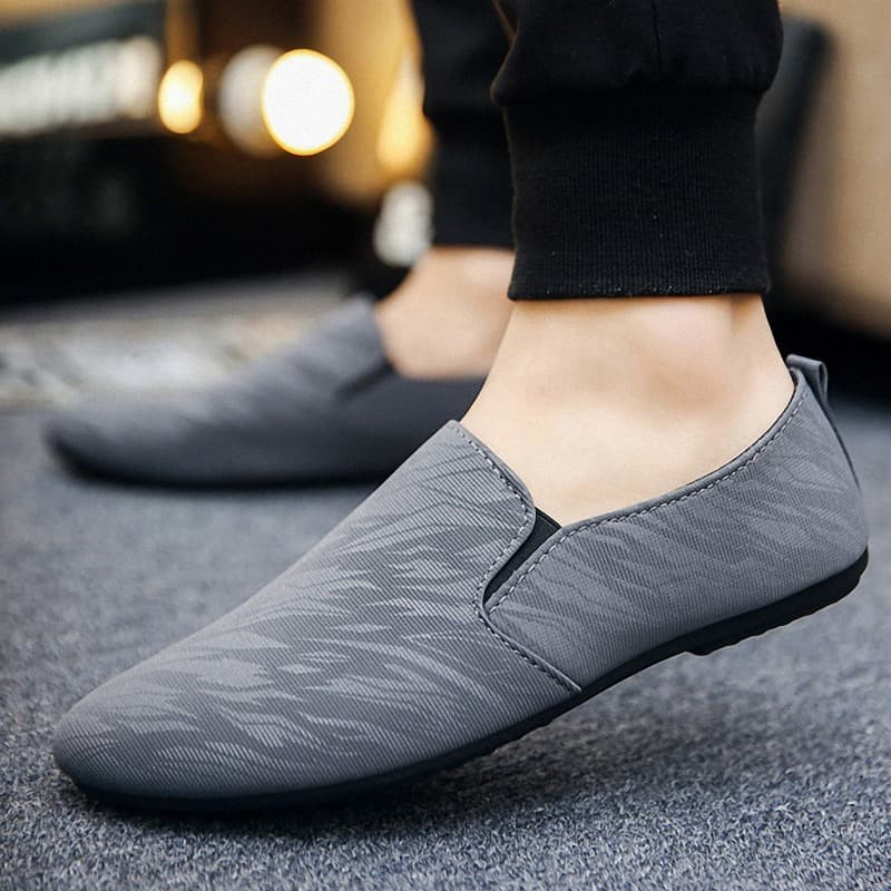 Leedoo Sepatu Pria Slip On Casual Import Sepatu Santai MR214