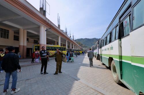ISBT Bus Stand Mandi