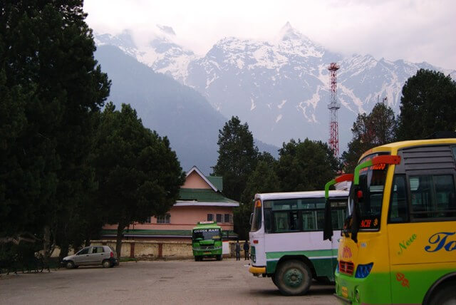 Reckong Peo Bus Stand