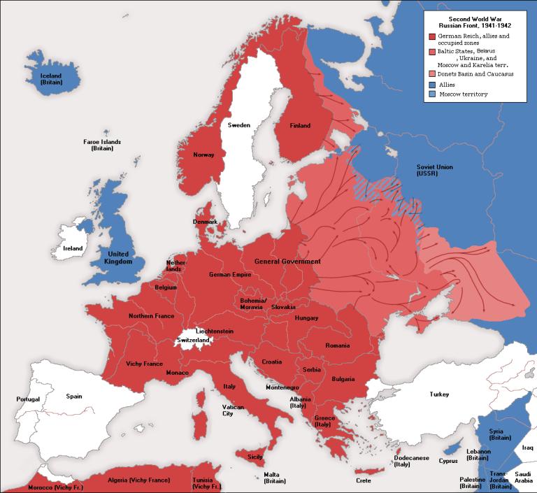 WWII_Europe_1941-1942_Map_EN