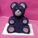 Tarta oso modelado en RKT