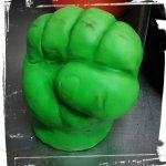 Mano de Hulk en RKT