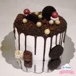 drip cake ditartas
