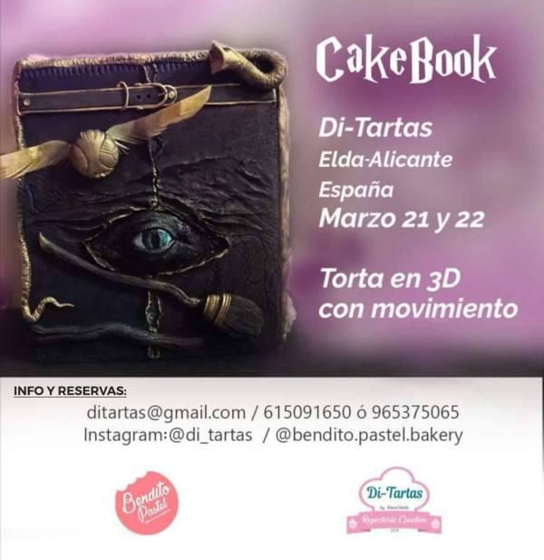 CAKE BOOK por Bendito Pastel DiTartas