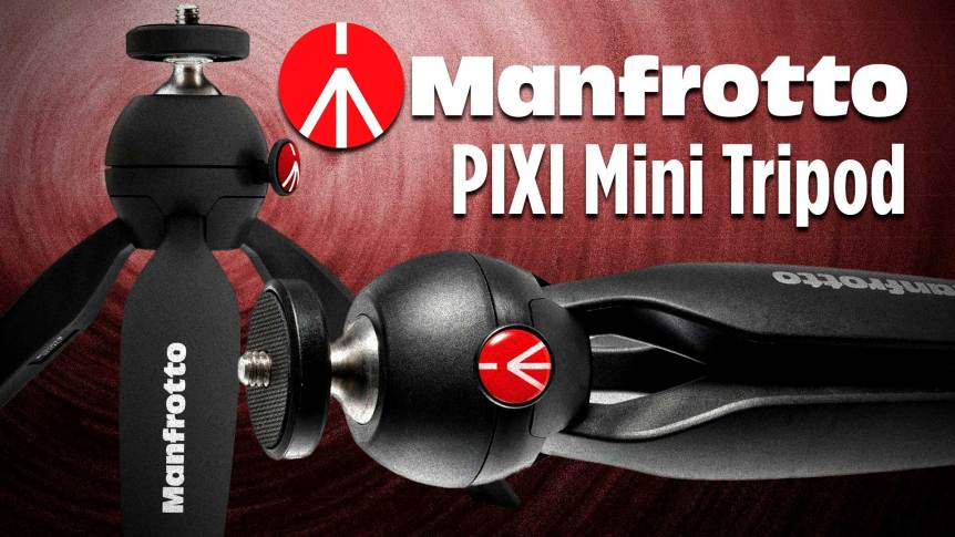 Manfrotto MPIXI-B PIXI Mini Tripod Review