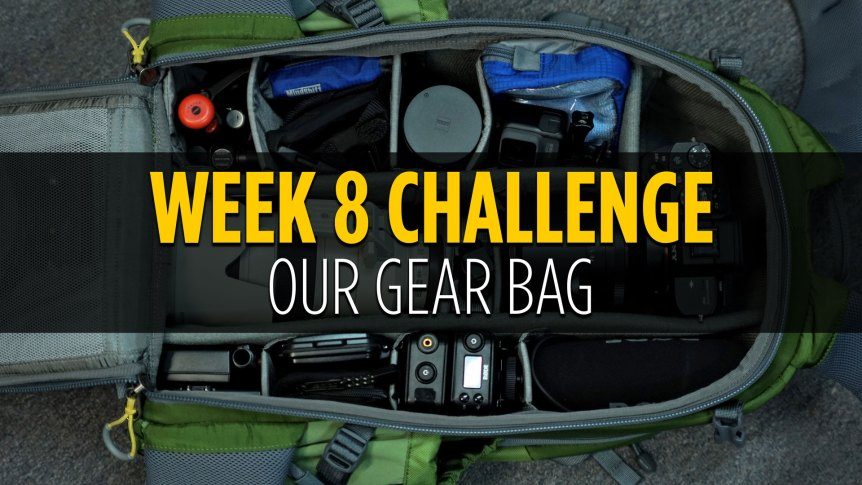 Ditch Auto Photography Challenge Week 8 Gear Bag
