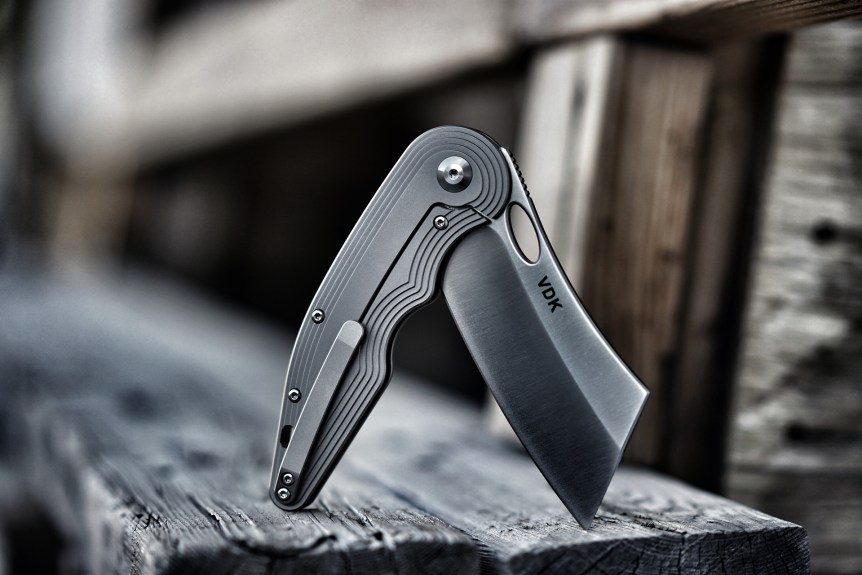 Product Photography Folding Knife