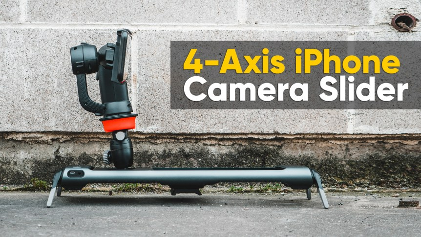 4-Axis iPhone Cinema Slider - Hands Free Cinematic Filming