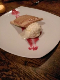 Homemade Apple Pop Tart w/ Cheddar Cheese Ice Cream @ Stanbury