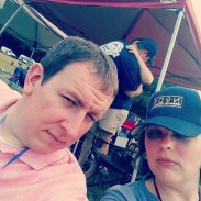 Game faces at the 2015 NC Brewers and Music Fest
