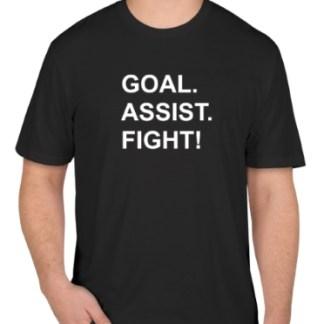 Goal Assist Fight Shirt