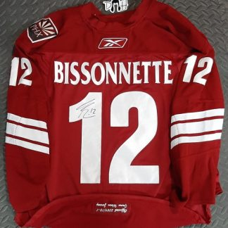 Paul Bissonnette Signed Game Worn Jersey