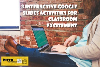 Google Slides isn't just for delivering presentations to an audience. Here are eight activities that bring interactive learning to students. (Public domain image via Pixabay.com)