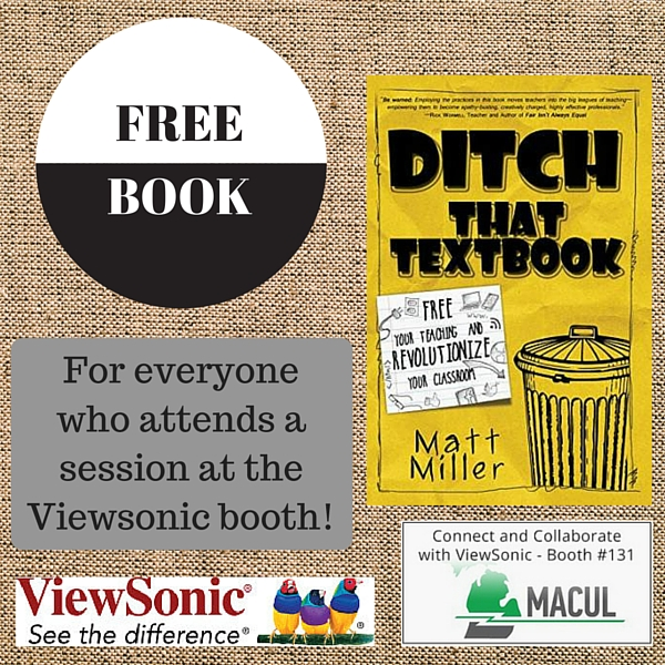 Get a FREE copy of-Ditch That Textbook-at these presentations!