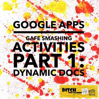 Google Apps are powerful classroom tools by themselves. When you smash multiple apps together in one activity, magic can happen. Here are some examples. (Public domain image via Pixabay.com)