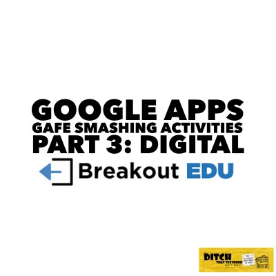 Problem solving. Critical thinking. Teamwork. And lots of fun. What's Breakout EDU Digital all about? Check out this post. (Logo from Breakout EDU)