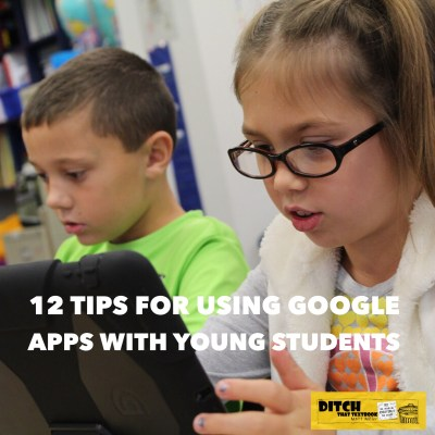 Google Apps is only for older students? Not so, according to kindergarten teacher Christine Pinto! She offers Google tips for littles. (Public domain image via Pixabay.com)