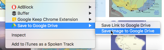 how to save to your google drive