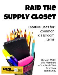 Raid the supply closet intro pages