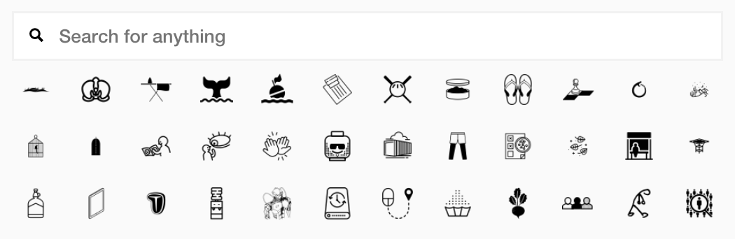 what is the noun project