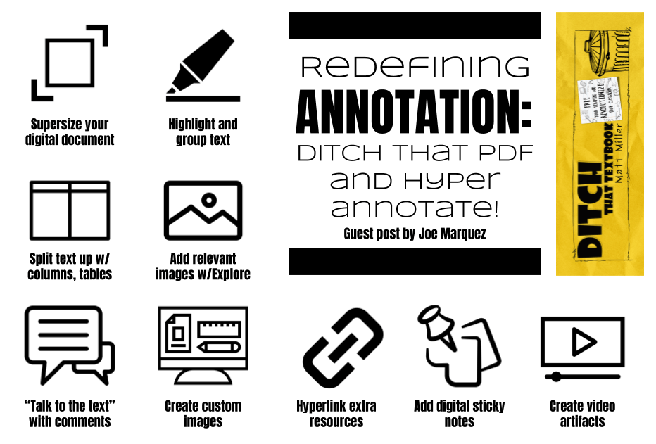 Redefining annotation: Ditch That PDF and hyper-annotate | Ditch