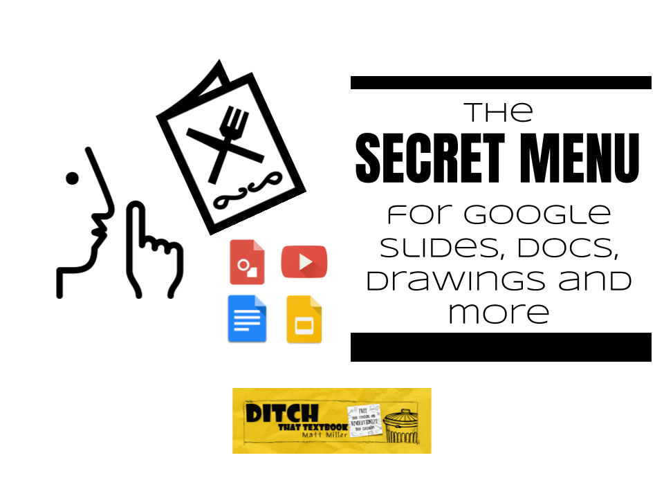 the secret menu for google slides docs drawings and more ditch