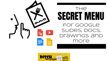 The Secret Menu For Google Slides Docs Drawings And More
