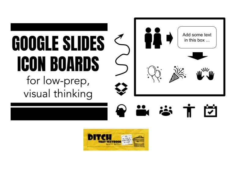 Google slides icon boards
