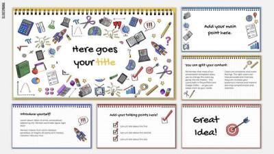 Doodles Free Template for Google Slides or PowerPoint Presentations