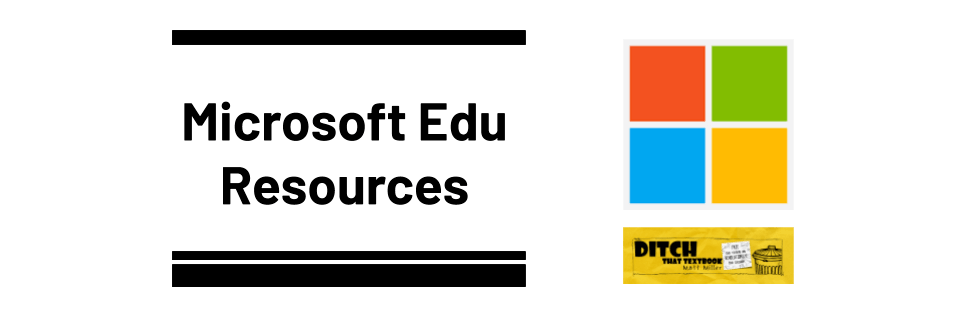 Microsoft Edu in the Classroom Categories Page (2)