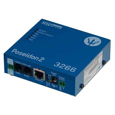 Poseidon2 3266 - registrador LAN con soporte SNMP