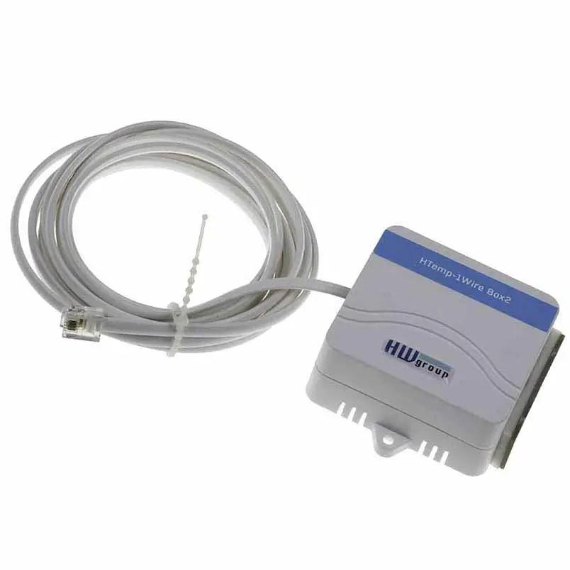 sonda de temperatura y humedad para pared htemp 1wire box2