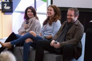Supernatural panel with Jewel Staite, Alaina Huffman & Mark Sheppard