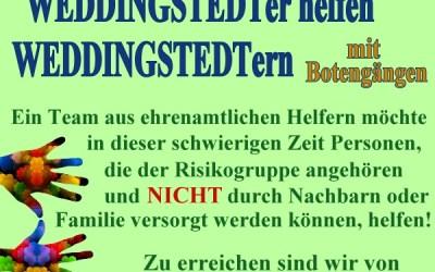 Weddingstedter helfen Weddingstedtern
